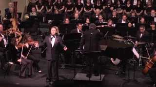 """Steve Amerson singing """"Mary, Did You Know?"""" with the Irving Symphony & Maestro Hector Guzman."""