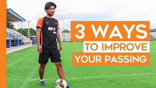 3 WAYS TO IMPROVE YOUR PASSING   YUDAI OGAWA