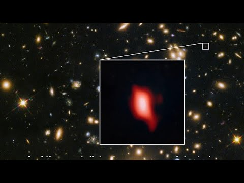 ESOcast 161 Light: Distant galaxy reveals very early star formation (4K UHD)