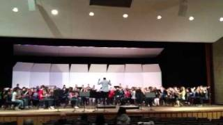 MSBOA 8th Grade 2012 Honors Band - Tailspin