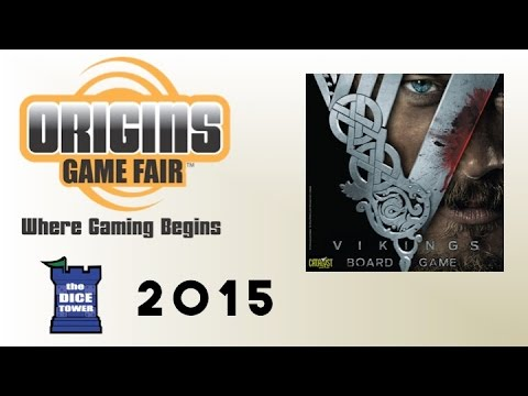 Origins Summer Preview: Vikings Board Game