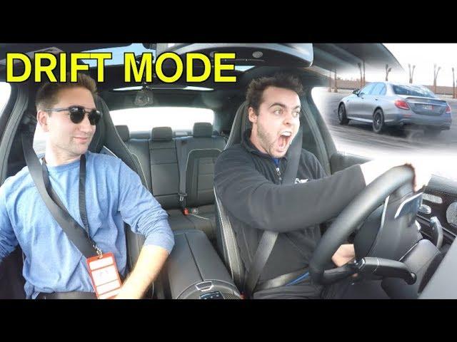 I TRIED DRIFT MODE IN THE E63S *Bad Idea*