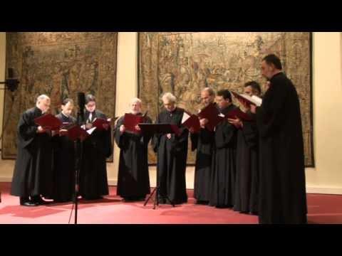 Greece - Byzantine music liturgy - Choir Aghiopolitis 2