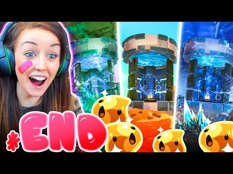 😱ALL 3 SECRET VAULTS!😱 (The End!) (Slime Rancher #END!🐣)