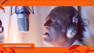Super Star Rajinikanth Dubbing for Endhiran | #SunTVThrowBack