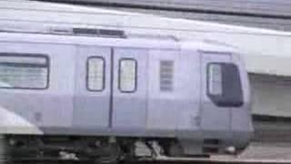 MTR Tung Chung Line: K-Train passing through at 75km/h