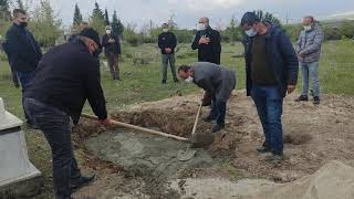 Aleviler'de cenaze defin işlemi