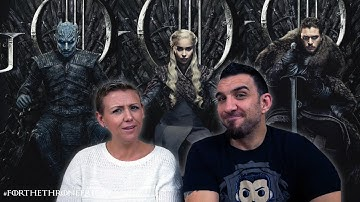 NEW Game Of Thrones Season 8 Posters!!!