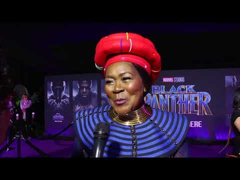 Black Panther on BlackTree TV: South African star Connie Chiume on film's meaning for Africa