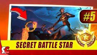 Fortnite | WEEK 5 Secret Battle Star Location (Season 8 Battle Star Discovery Loading Screens)