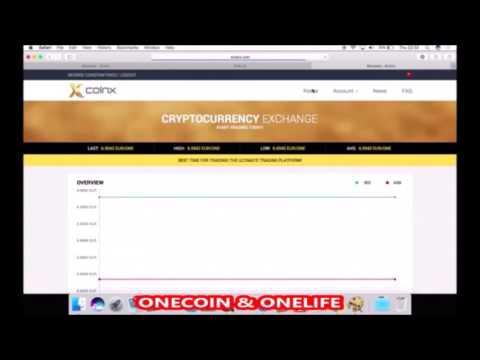 XCOINX - NEW EXCHANGE PLATFORM - OneCoin & OneLife