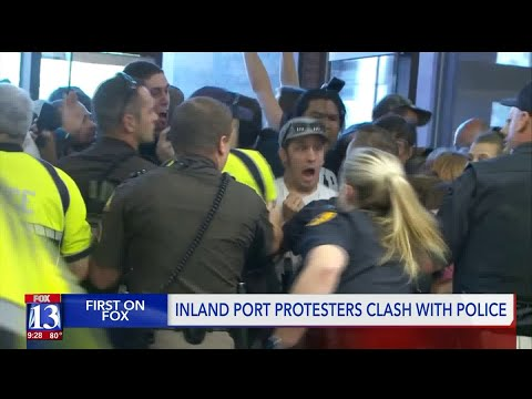 Utah Inland Port protest turns to chaos Mp3