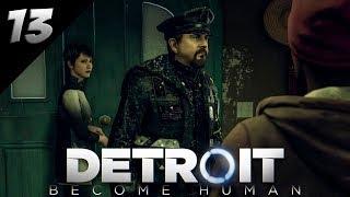 Detroit: Become Human PL #13 - PROBLEMY Z POLICJĄ?!