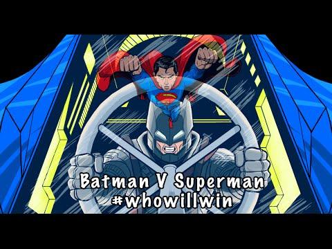Batman V Superman #WhoWillWin Mini Animation