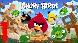 Angry Birds   el juego en español   episodio 1   Pajarillos locos