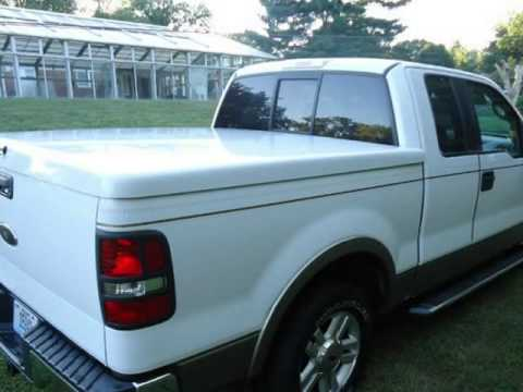 2005 Ford F 150 Supercab Shortbed Lariat 54 V8 Leather Hard