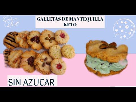 galletas de azúcar de dieta keto
