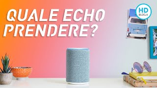 Quale Amazon Echo scegliere in offerta al Black Friday 2019? Panoramica