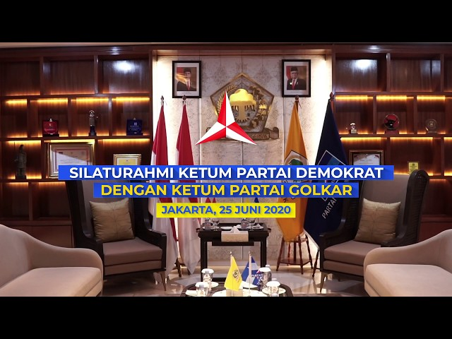 Silaturahmi Politik ke Kantor DPP Partai Golkar