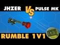 Rocket League   JHZER vs Pulse MK   1v1 Rumble