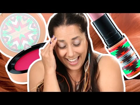 "Thumbnail: Native American Women Review MAC's ""Vibe Tribe"""