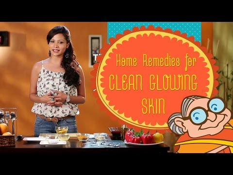 Glowing Skin - Ayurvedic Home Remedies & Beauty Tips for Clean and Fair Wrinkle Free Skin