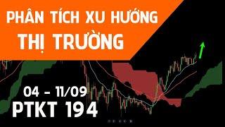 ???? [Trực tiếp] PTKT194 | Phân tich xu hướng Bitcoin, Gold, Forex, Chứng khoán 04 - 11/09/21