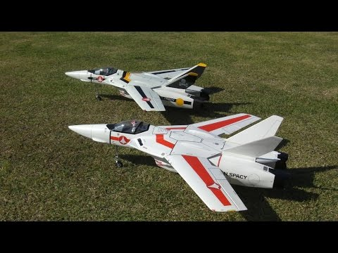 VF-1 Valkyrie(バルキリー)を飛ばしたい、感動の初フライト