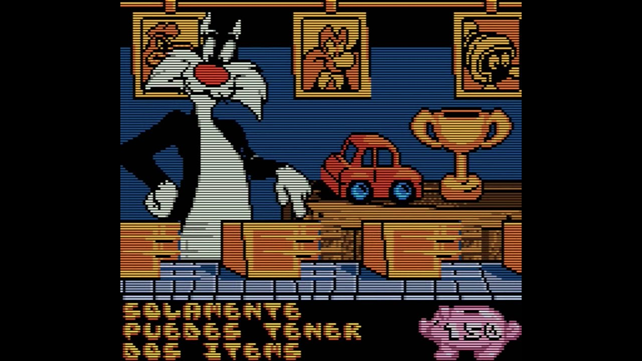 Looney Tunes Racing (Game Boy Color) - castellano - YouTube