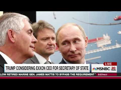 Trump/Tillerson could reverse $500 billion Exxon deal with Russia