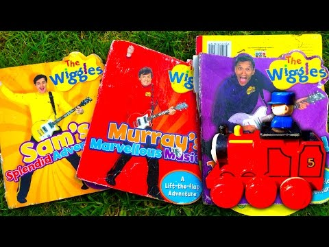 Wiggles Junk James Saved From Scrap & Planet Of The Treasure Hunter Apes