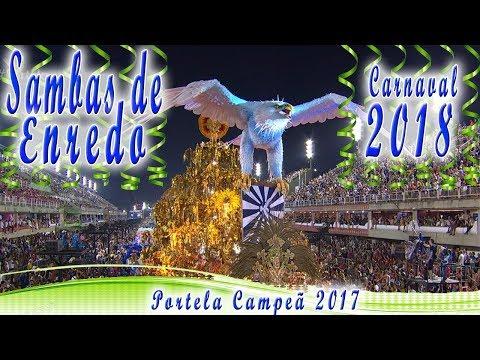 CD SAMBAS DE ENREDO RIO DE JANEIRO 2018 - GRUPO ESPECIAL (SAMBAS CAMPEÕES)