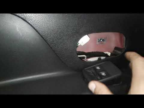 Renault Sandero разборка передней карты двери.