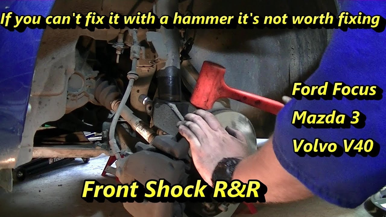 Changing Front Shocks and Struts - Ford Focus
