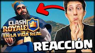 REACCIONANDO AL CLASH ROYALE EN LA VIDA REAL de GREFG - WithZack