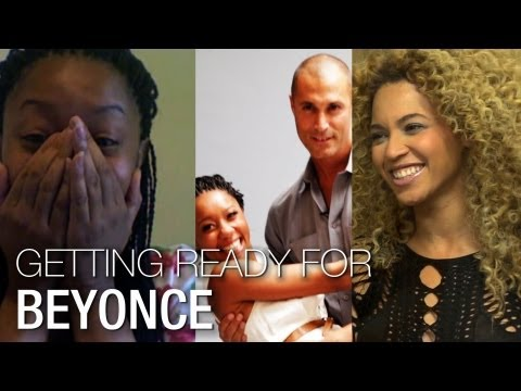 I'm a Huge  Beyonce: A Photo Shoot With Nigel Barker!