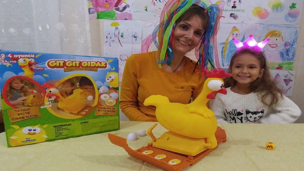 Gıt gıt gıdak tavuk oyuncak kutusu açtık, eğlenceli çocuk videosu, toys unboxing