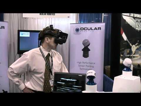 Head Tracked RobotEye with Head Mounted Display