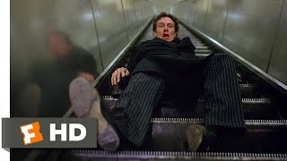 An American Werewolf in London (1981) - Subway Chase Scene (6\/10) | Movieclips