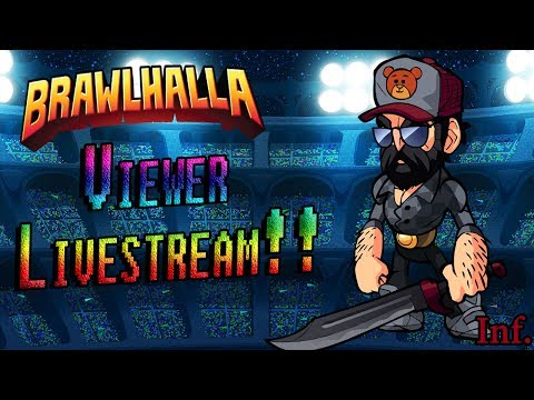 Brawlbros play... Caspian (Thief) new legend HYPE!! (Brawlhalla Viewer Livestream)