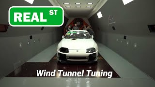 Supra Wind Tunnel Aero Tuning
