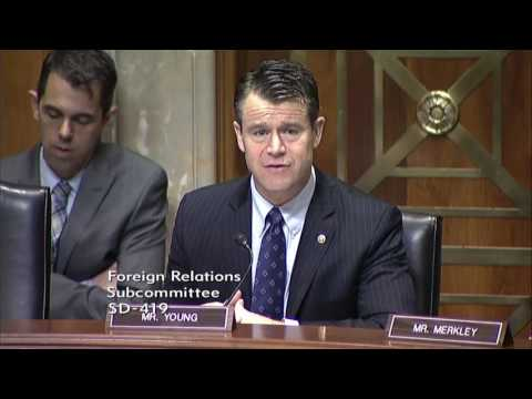 Senator Young Opens Subcommittee Hearing on Global Philanthropy and International Development