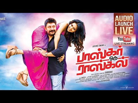 Bhaskar Oru Rascal Audio Launch Live |...