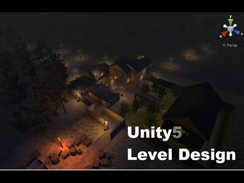 Unity: Practice of Making a game Level with Free Asset Store items