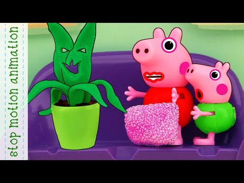 shadows Peppa Pig tv toys stop motion animation