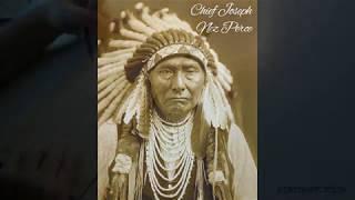 Time Lapse Drawing - Chief Joseph, Nez Perce