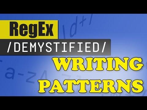 Creating Regex Patterns | REGEX DEMYSTIFIED - YouTube
