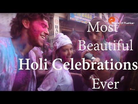 Most Beautiful Holi Celebrations Ever | 2017 Pushkar Holi | #HappyHoli | Roots of Pushkar Records