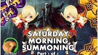 summoners war saturday morning summons 300 mystical legendary scrolls 6 18 16 part 1 of 5