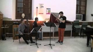 Giovanni Battista Fontana: Sonata Terza — Gonzalo M. Llao Díaz, recorder